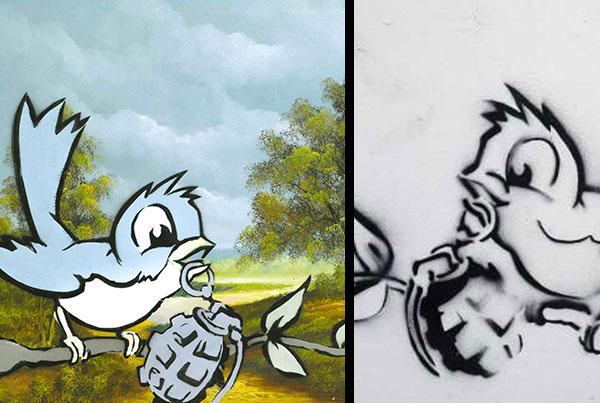 Bird and Grenade