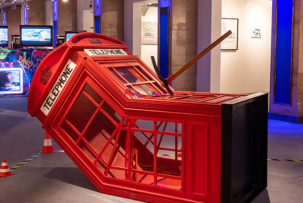 Death of a Phone Booth