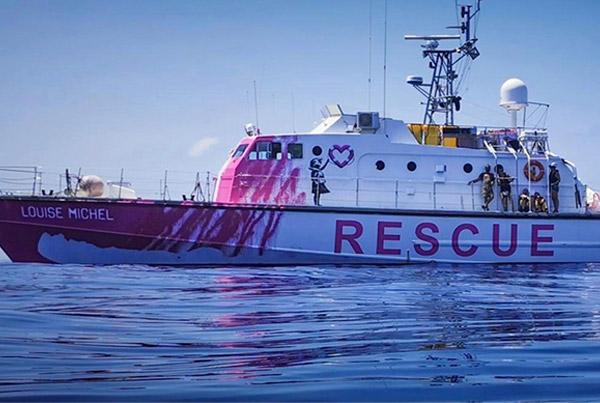 "Rescue Boat ""Louise Michel"""