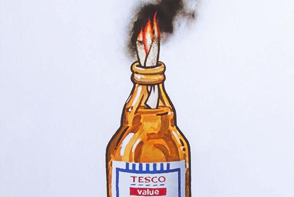 Tesco Value Petrol Bomb